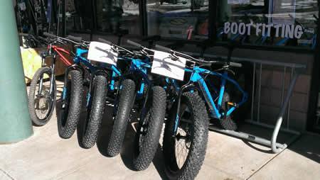 Alpine Sports Rental Specialized Fatboy Bike Rentals